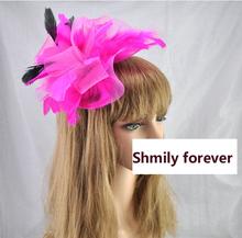 cheap fascinator pink