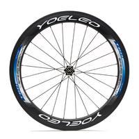 Ceramic Bearing + Sapim Spokes + Straight Pull Hubs 700C Carbon Wheels Tubular  60mm Road Bike Bicycle Wheel