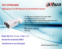Dahua !!IPC-HFW4300S  3Megapixel Full HD Network Small IR-Bullet Camera ip camera wireless without  Poe