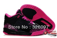 Free Shipping Famous Trainers AIR 3 Retro women's Sports Basketball Shoes Black purple