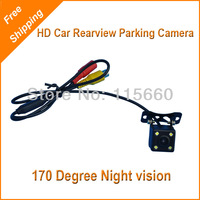 Roadfeast HD 170 degree Wide view Lens Auto Car Rear view Parking Reverse Backup Waterproof Drive Camera Free & Fast to Russia