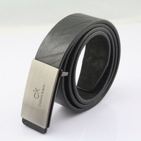 Free shipping Fashion hot-selling male strap plate buckle strap Men belt white fashionable casual strap