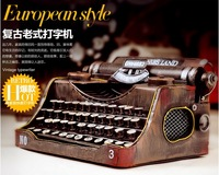 Free Shipping Metal Craft Classic Retro European Style Printer, Classic Printer Model For Desk Decoration, Great Collectibles
