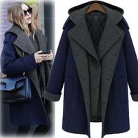 2013 New arrival women winter jacket fur coat warm long coat Fashion cotton jacket larger size 6XL