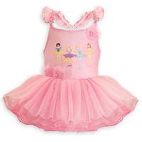 5pcs Children girl's  31194 summer 2014 new style girl child ballet  tulle dress pink color