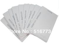 Free shipping Proximity 125khz mango tk4100 chip card