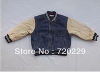 Children's wear jeans baseball uniform hot money in children baseball uniform special group of children