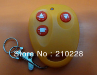 Free shipping The new FM copy remote controller 250 MHZ to 450 MHZ: yellow