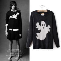 2013 fashion kaki o-neck pullover sweater star style sweater