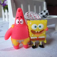 Bulk pen drive cartoon SpongeBob Couples gift 4gb 8gb 16gb 32gb 64gb usb flash drive pendrive free shipping