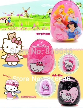 2014 New Infantil Mochilas School Kids Girls Boys Children Mochilas Cartoon Bag Hello Kitty DORA