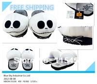 1 Pair Free Shipping The Nightmare Before Christmas 11 inch Adult plush slipper stuffed slipper