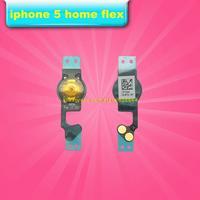 100pcs For iphone 5 home button flex cables 100% Guarantee Original New wholesale