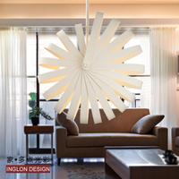 New arrival modern pendant light personalized spherical white pendant light 350mm