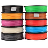 The new 3D -West PLA 1.75mm 1kg 3D printer supplies three-dimensional printing material printed silk