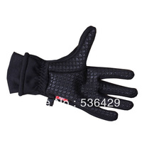 Professional ski gloves women,windstopper,winter wome's leather thermal gloves black,windproof waterproof outdoor gloves