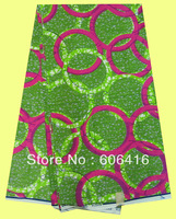 African clothing Free shipping newest style good quality super wax fabrics W-F00452