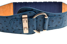 popular ostrich belt