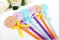 Stationery   School supplies Ballpoint Pens lollipop pen Multicolor