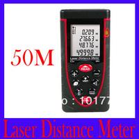Free shipping RZ50 Digital Laser Distance Meter Tester Range Finder Measure 0.2 to 50m ,2pcs/lot