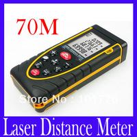 Free Shipping RZ70 Digital Laser Distance Meter Tester / laser surface roughness tester ,2pcs/lot