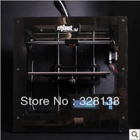 Free shipping 3d printer MBot Cube II Black Edition new version personal desktop two extruders 3D printer Magicfirm Brand
