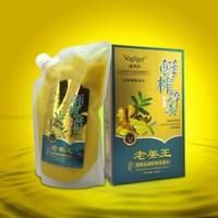 Moisturizing shampoo heat energy fresh ginger essence