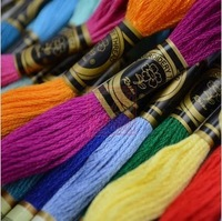 Embroidery Thread Cross Stitch Thread 1 Lot=50 Skein   Floss  CXC  Factory Shop Free Shipping