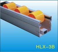 Black ABS/PE Flow Rail/Placon/Roller Track    HLX-Flow Rail-3B-P30