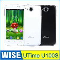 4.6 Inch UTIME U100S MTK6582 Quad Core 1.3GHz Muti language 512MB/4GB 8.0MP Dual Camera Dual SIMS Bluetooth GPS FM Smartphone