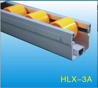 Black ABS/PE Flow Rail/Placon/Roller Track    HLX-Flow Rail-3A-P30