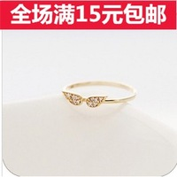 Accessories brief diamond ring lovers finger ring female finger ring