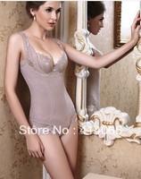 whole women sexy corset shaper magic slimming suit body building underwear ladies shapewear print flower wear