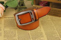 2014 NEW Strap male genuine cow leather strap cowhide belt male pin buckle B27