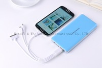 Polymer battery 20000mAh Portable Power Bank External Battery charger for iphone 5 4S 4 3GS / samsung galaxy S4 SIV S3 ipad
