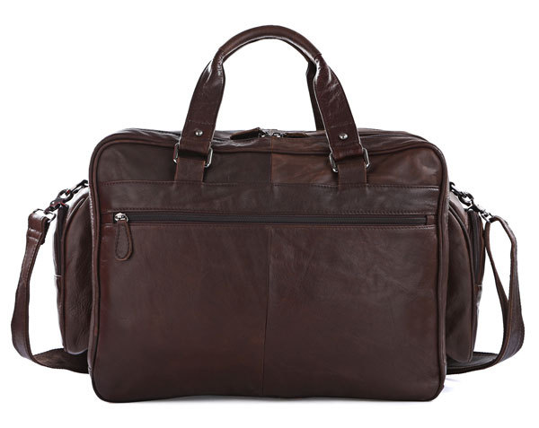 J.M.D New Arrival Manly Real Leather Trendy Travel Bags Handbag