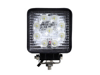 4'' 27W Led Work Light Spot Beam Fog Lamp Off Road Truck SUV Boat ATV 4X4 4WD