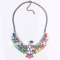Motocycle Chain Shourouk Eagle Necklace 2014 Fashion Jewelry Free Shipping