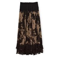 New arrival 2013 women's gauze lace bust  high waist tube top expansion skirt long skirt