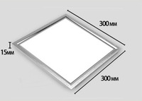 12pcs/lot 8W LED Panel Light AC85-265V Square LED Ceiling Light 720Lumens Free Shipping