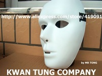 10pcs/lot Wolesale Free Shipping HIPHOP Jabbawockeez Holiday ornament Party Mask Head Halloween Costume Theater Prop Novelty PVC