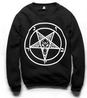 TOP SALE ! women's turtleneck sweatshirts harajuku Star print hoodies Black pullovers 2014 New free shipping