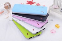 Ultrathin 10000mAh Portable Power Bank / External Battery back charger for iphone 5 4S 4 3GS / samsung galaxy S4 SIV S3 ipad
