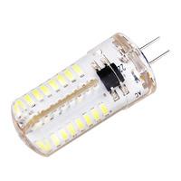 G4 3W 240-270LM 3500k -5500k 64*3014 SMD White Light 220V LED Bulb