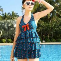 Free shipping Dress retro pin up Vintage Bikini Swimsuit Swimwear