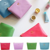 Free Shipping  bow cosmetic bag & Cases storage bag elegant small bags storage portable bag
