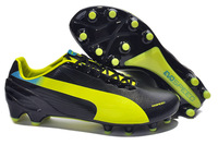 Free Delivery!Promotion Brand Soccer Shoes Wmns evoSPEED 3.2 FG - Yellow Blue Poseidon Football Boots Outlet Online