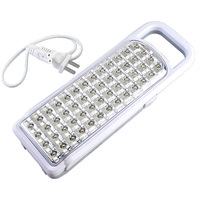 52 LED Rechargeable Portable Handheld Emergency Light Clamp Lamp KM-788