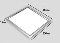Best Price 12pcs/lot 12W LED Panel Light AC85-265V Square 1080Lumens