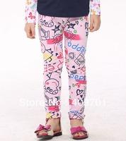 Nova children pants baby girls autumn/spring peppa pig pants fashion girls baby & kids leggings G4219